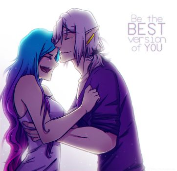 Be The Best Version Of You by NarumyNatsue