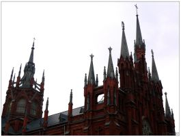 Gothic Moscow: Catholic part 2 by Tiaria