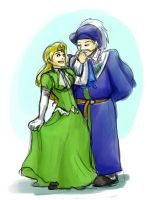 Escaflowne - Grava and Therese Aston by jameson9101322