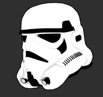 Storm trooper helmet YEAH by BaRToNiX