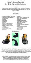 Sora's Shoes Tutorial by makeshiftwings30