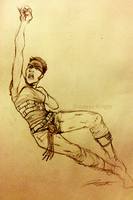 Mad Max: Furiosa Speed Sketch by DJCoulz