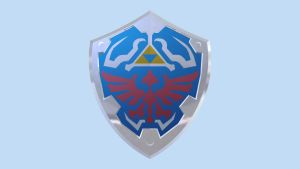 LEGO Hylian Shield by mingles