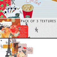 Pack of 3 Textures by myonlyloverob