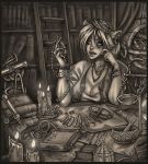 workspace by Harpyqueen