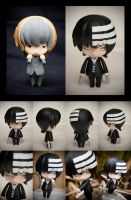 Custom Death the Kid nendoroid by SomaKun