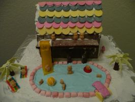 Gingerbread Poolhouse 1 by Snozzberry4947