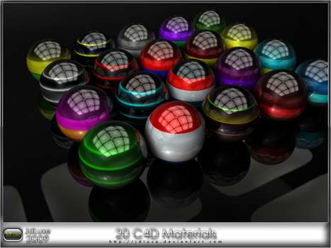 C4D Material Set 12 by JDLuxe