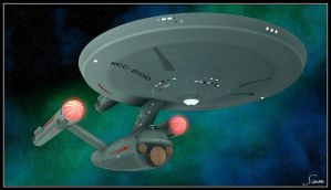 U.S.S. Federation NCC-2100 by celticarchie