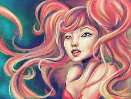 Technicolor Mermaid by parochena