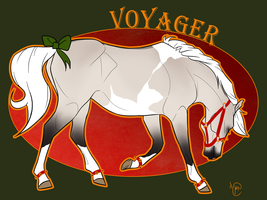 Jingle Ponies .:. Voyager by WesternSpice