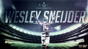 Wesley Sneijder Wallpaper ft. Destroyer by EsegaGraphic