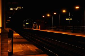Floral Park Station by luijo