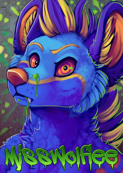 BLFC Badge MissWolfiee by ThayRustback