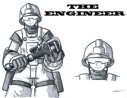 The Engineer by Gold-Paladin