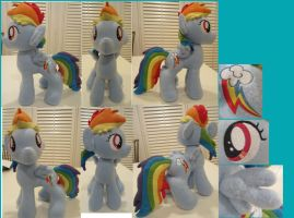 Filly rainbowdash by Plushypuppystudio