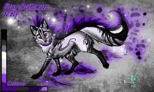 Star Nightmare Wolf Auction CLOSED by Snow-Body