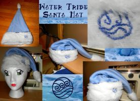 Water Tribe Santa Hat by Celeste707