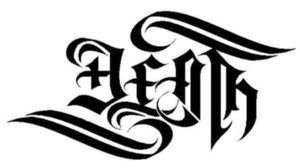 death + life ambigram by raixhell