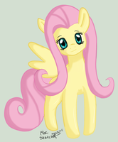 Day 171 - MLP FIM Fluttershy by LinkSketchit
