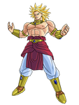 SSJ Broly by brolyeuphyfusion9500