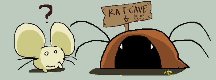 To the Rat Cave by NeoSlashott