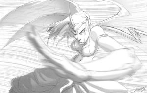 Grace in Greyscale by theCHAMBA