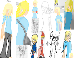 Collage of Shaons by Shaon
