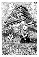 Usagi Yojimbo for the Sakai Project benefit book by WestStudio3