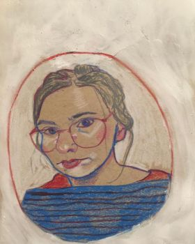 girl with glasses by cableclair