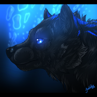 Deep Blue (Contest Prize) by xxMoonwish