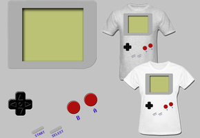 Gameboy T Shirts by Enlightenup23
