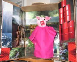 This Little Piggy by puppetry