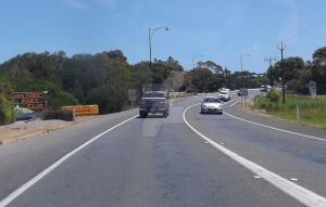 Entering Port Elliot by tablelander