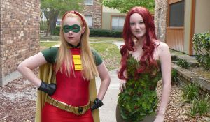 Robin and Poison Ivy by netogrof