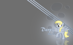 Derpy wallpaper by Fennrick