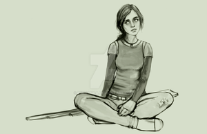 The Last of US - SKETCH - Not finished yet. :) by minoanoa