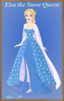 Elsa the Snow Queen by Astrogirl500