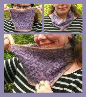 Fair-isle Cowl - Nerds-and-Corsets by KnitLizzy
