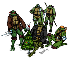 TMNT SaiNW X-Mas Project by ArseniyDubakov