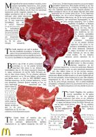 Meat poster by 1492ANDIBLAIR