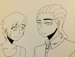 J.D. and Julie inked by LordofTheSouls