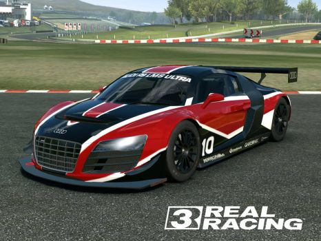 Audi #10 R8 LMS Ultra - Real Racing 3 by Silent-Valiance