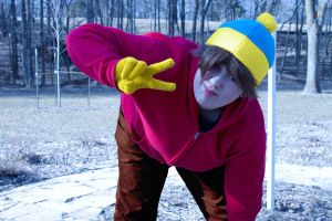 SOUTH PARK:  Eric Cartman by krazorspoon