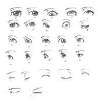 Eye Reference by KCSteiner