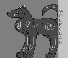 wolfclan mascot by alleycat7788