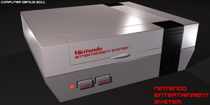 Nintendo Entertainment System by ComputerGenius