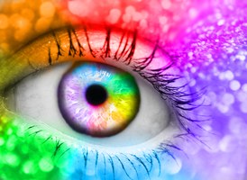 Rainbow Vision by keashie