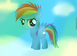 Baby Rainbow Dash 2.0 (Improved) by ILoveEdwardRichtofen