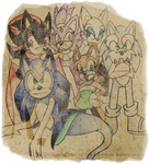 The Original Crew of the Sapphire Immortality by SonicRemix